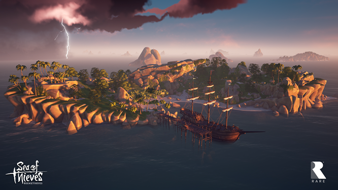 Sea of Thieves Lightening Branded 4K